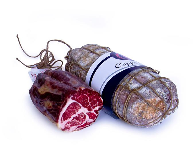 Coppa - tied by hand